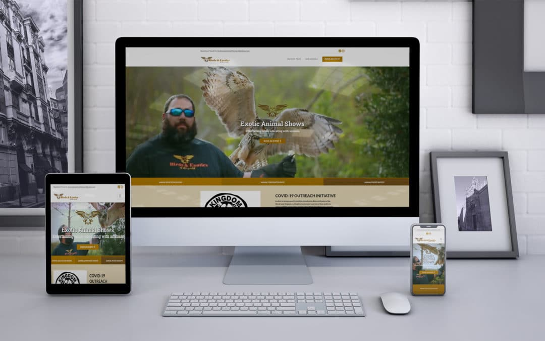 Birds and Exotics of the World Website