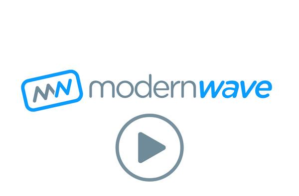 Modern Wave Creative Logo Animation